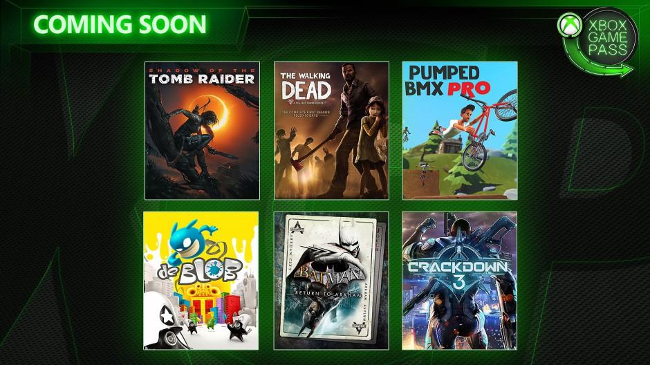 Xbox Game Pass febbraio 2019