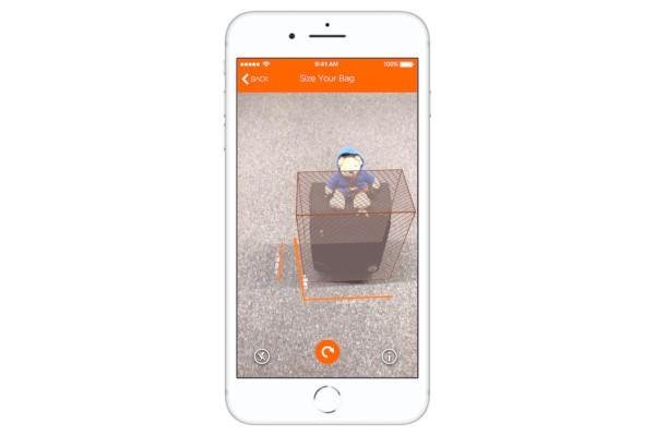 L'app easyJet usa la realtà aumentata per permettere di controllare le misure del bagaglio a mano 1
