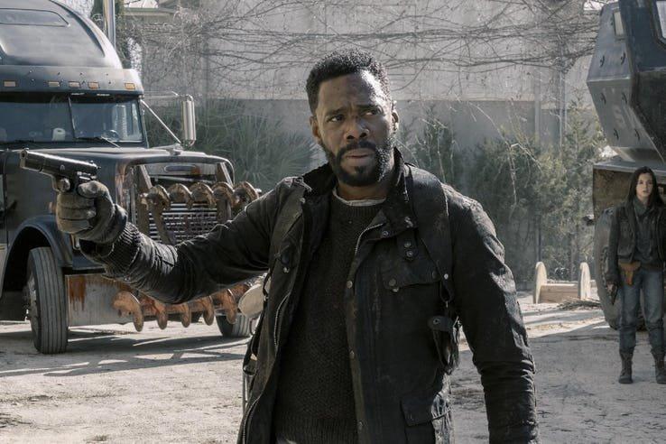 Fear The Walking Dead 5 nelle prime immagini ufficiali mostra il grande ritorno di Dwight 2