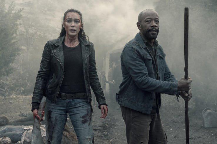 Fear The Walking Dead 5 nelle prime immagini ufficiali mostra il grande ritorno di Dwight 1