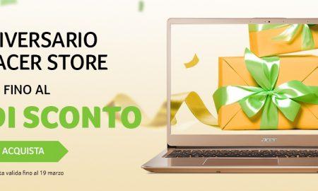 Acer Store offerte anniversario