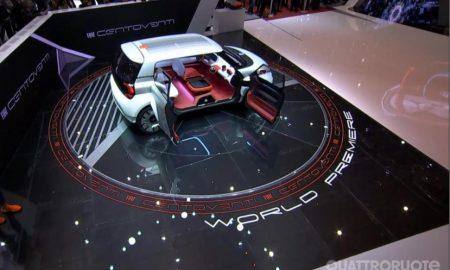 Centoventi Concept progetto Fiat Panda