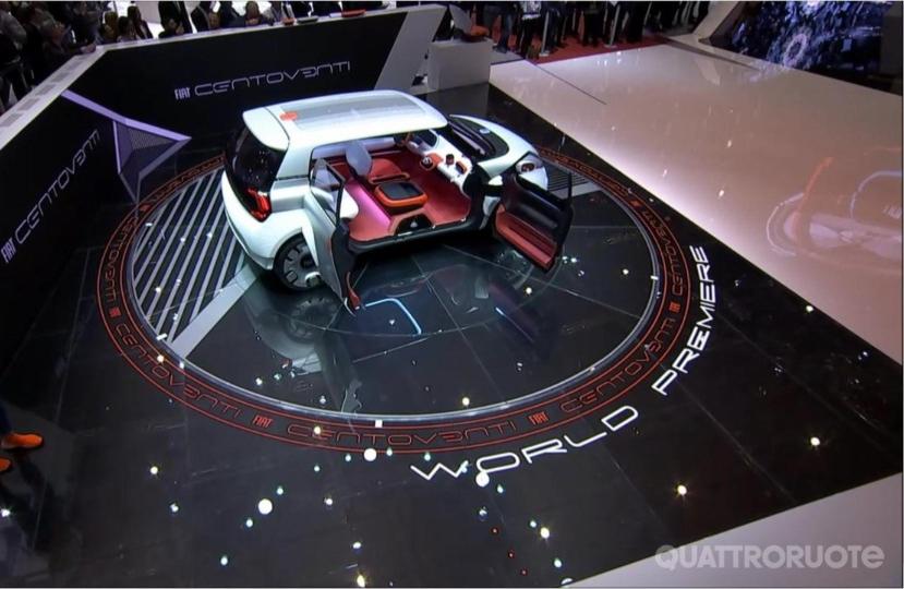 Ecco La Centoventi Concept Prototipo Su Cui Si Basera La Futura