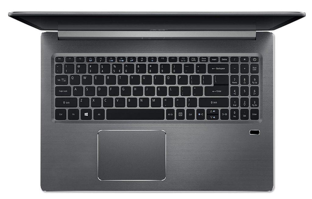 Chromebook Ekko e Bard sensore impronte