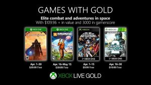 Games with Gold aprile 2019