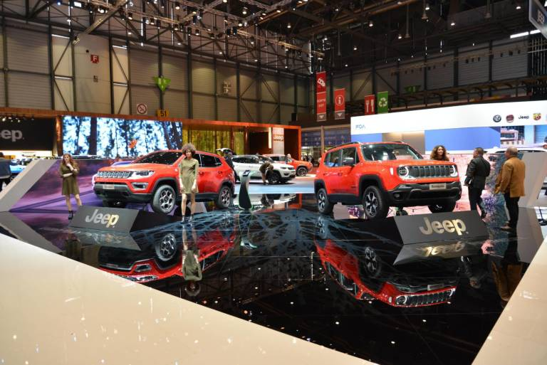 Jeep Renegade e Jeep Compass ibrido plug-in