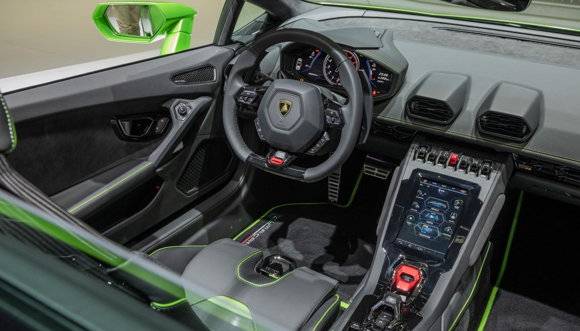 La nuova Lamborghini Huracán EVO Spyder è essenzialmente una supercar con un supercomputer 1