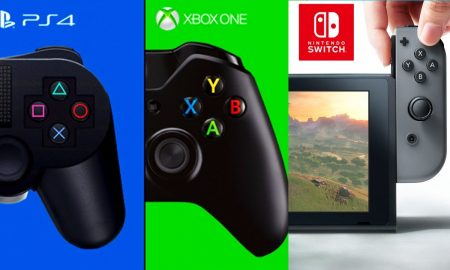 PS4 Xbox One Nintendo Switch