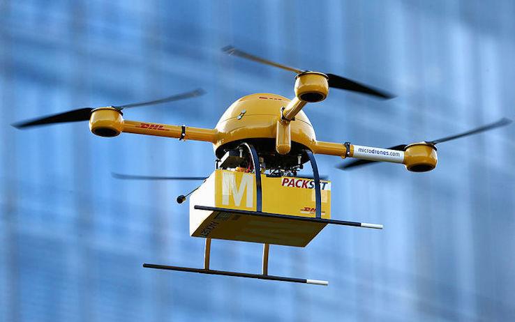 Poste Italiane punta alla consegna attraverso droni aerei e veicoli senza conducente