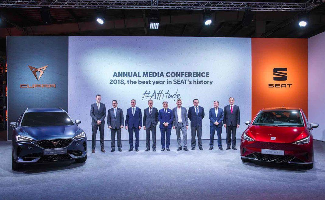 Seat lancerà 6 nuove auto elettriche o ibride entro il 2021 basate su piattaforma MEB 1