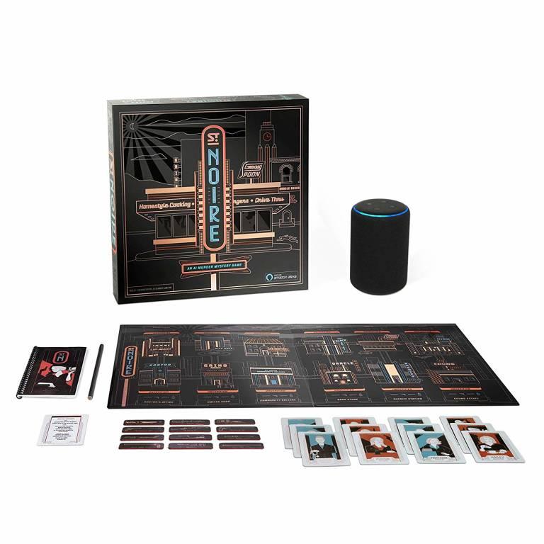 St Noire gioco da tavolo con Alexa