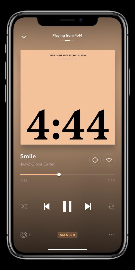TIDAL Masters ora disponibile anche su iPhone 1
