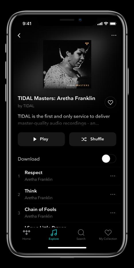 TIDAL Masters ora disponibile anche su iPhone 2