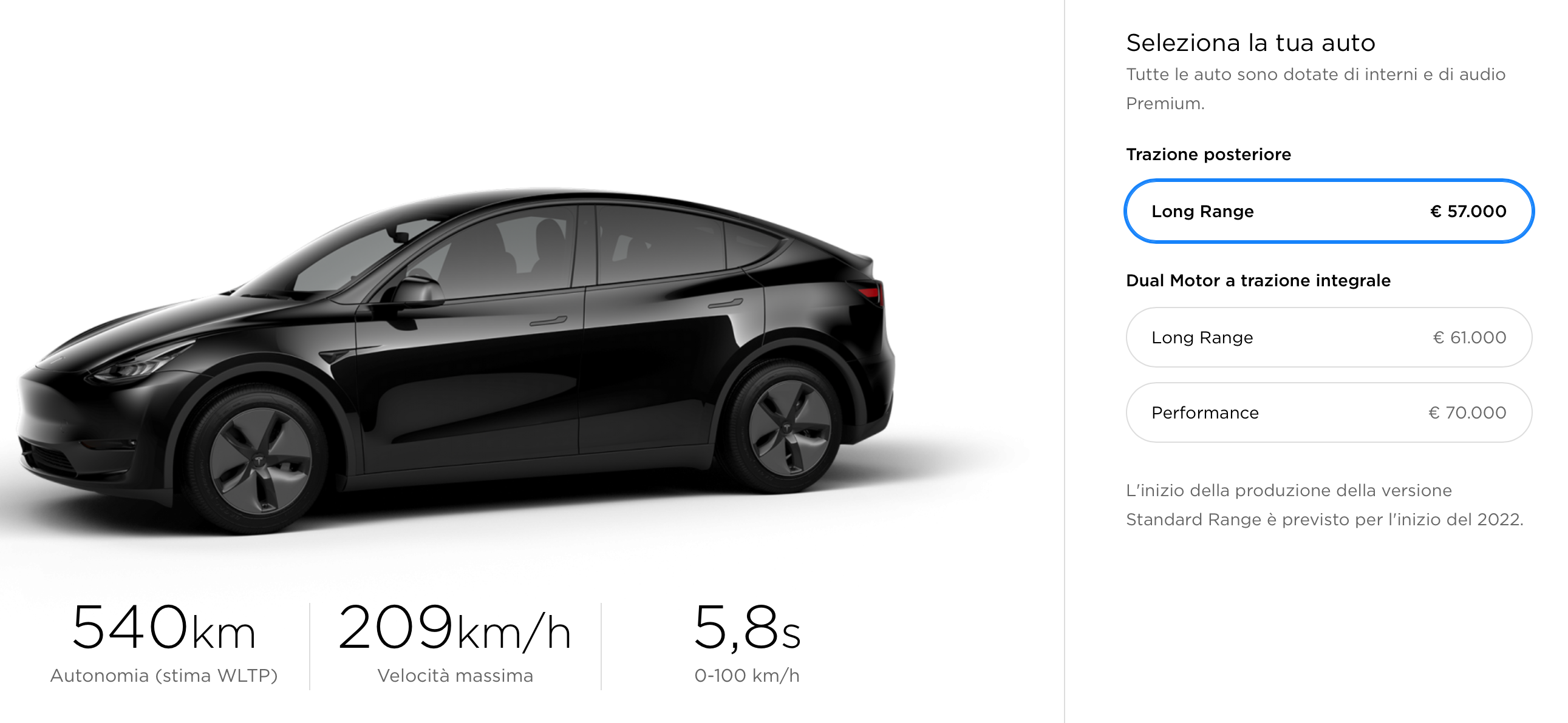 Tesla Model Y in Italia dal 2021 al prezzo base di 57.000 euro 1