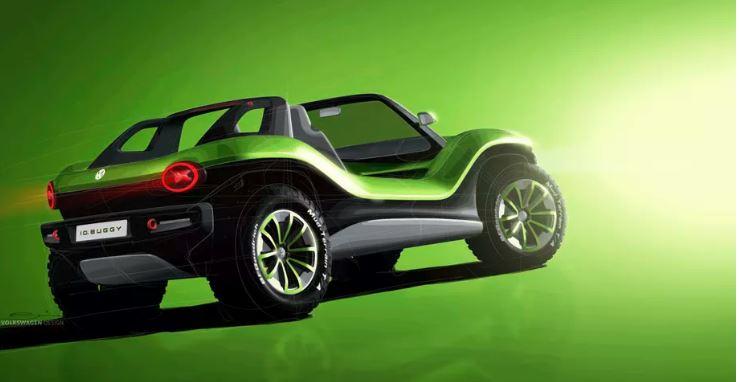 """Volkswagen presenta una """"dune buggy"""" elettrica da 201 cv e 287 KM di autonomia 1"""