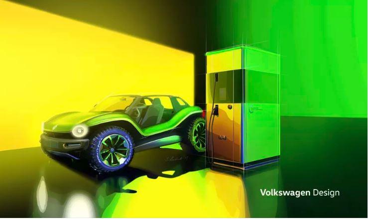 """Volkswagen presenta una """"dune buggy"""" elettrica da 201 cv e 287 KM di autonomia 3"""