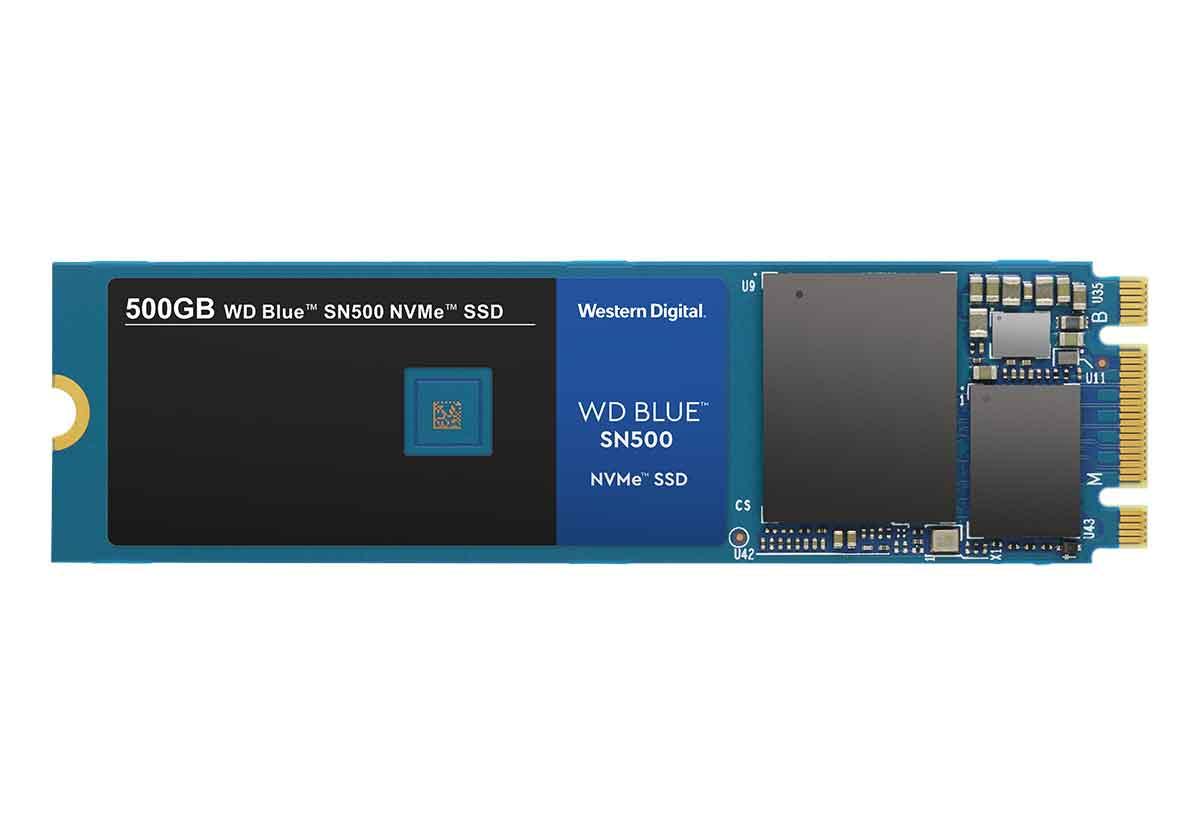 WD Blue SN500 NVMe è un SSD M.2 con velocità di1.700 MB/s e 1.450 MB/s e dal costo di soli 58 euro 1