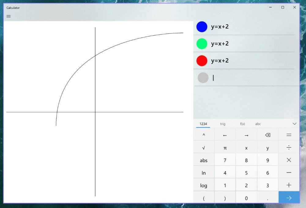 La calcolatrice di Windows 10 sarà presto la migliore amica degli studenti di algebra e geometria 1