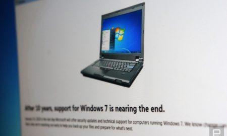 Windows 7 fine supporto 14 gennaio 2020
