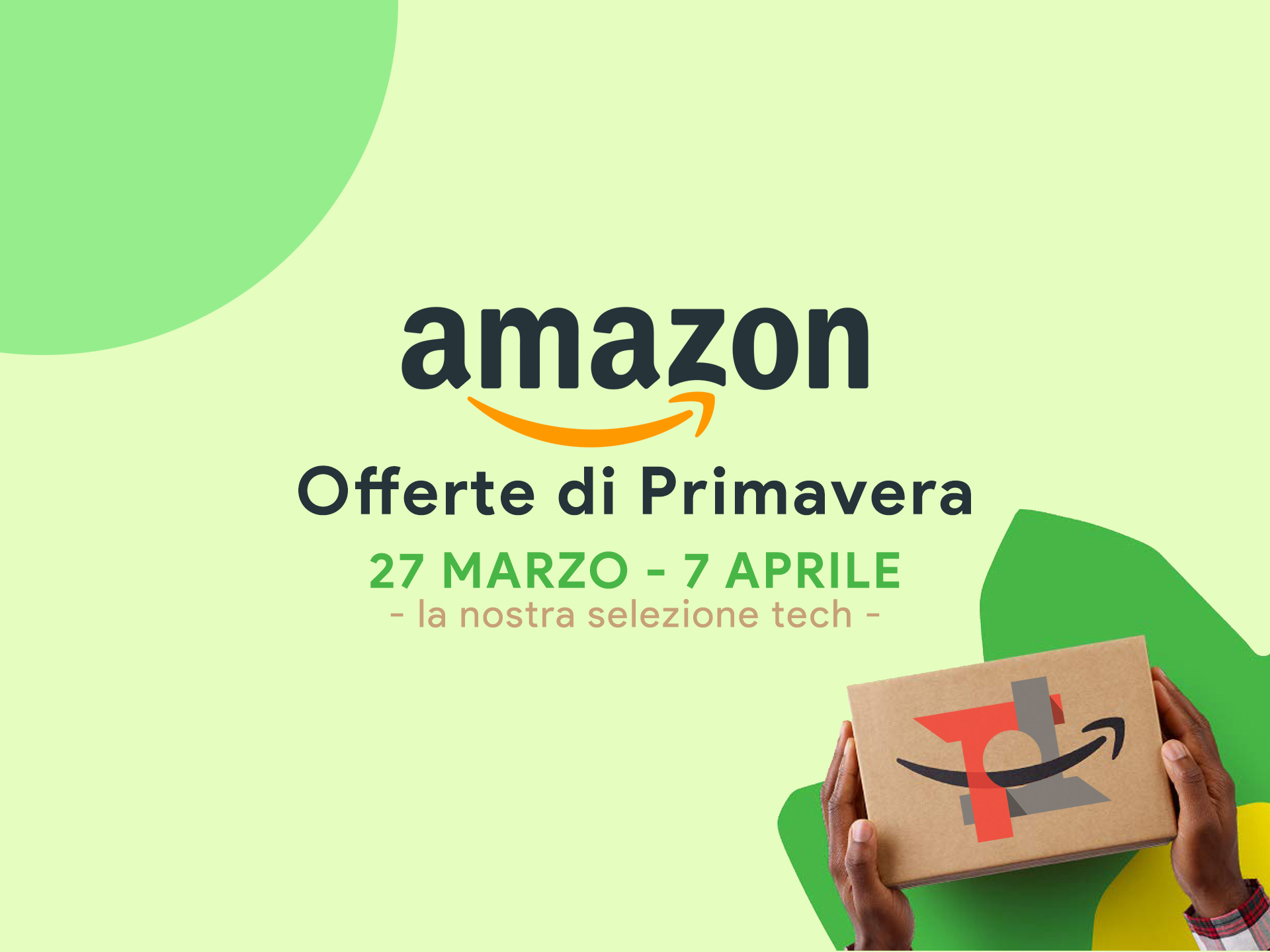 Le migliori offerte di primavera Amazon sulla tecnologia  e4e4753ca75b