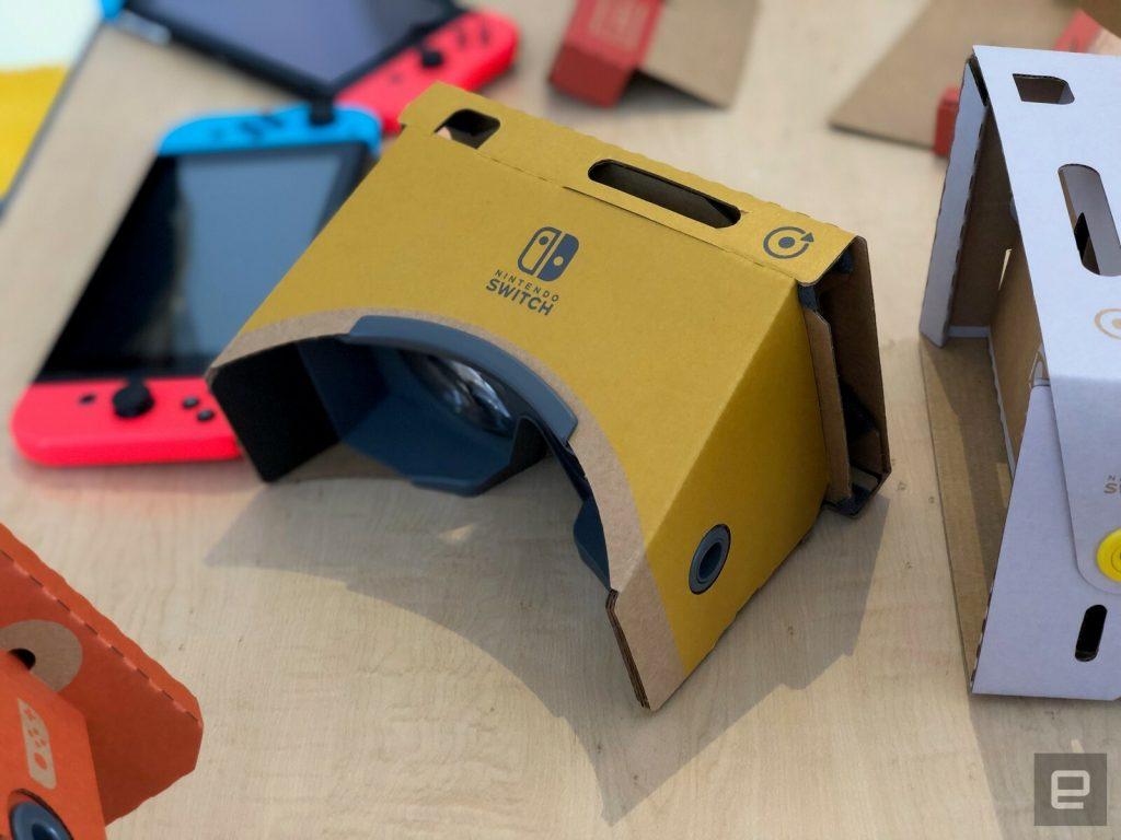 Diamo un primo sguardo al Nintendo Labo VR 2