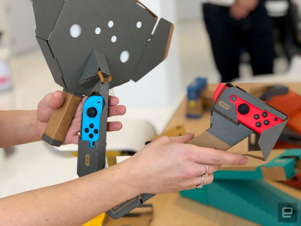 Diamo un primo sguardo al Nintendo Labo VR 5