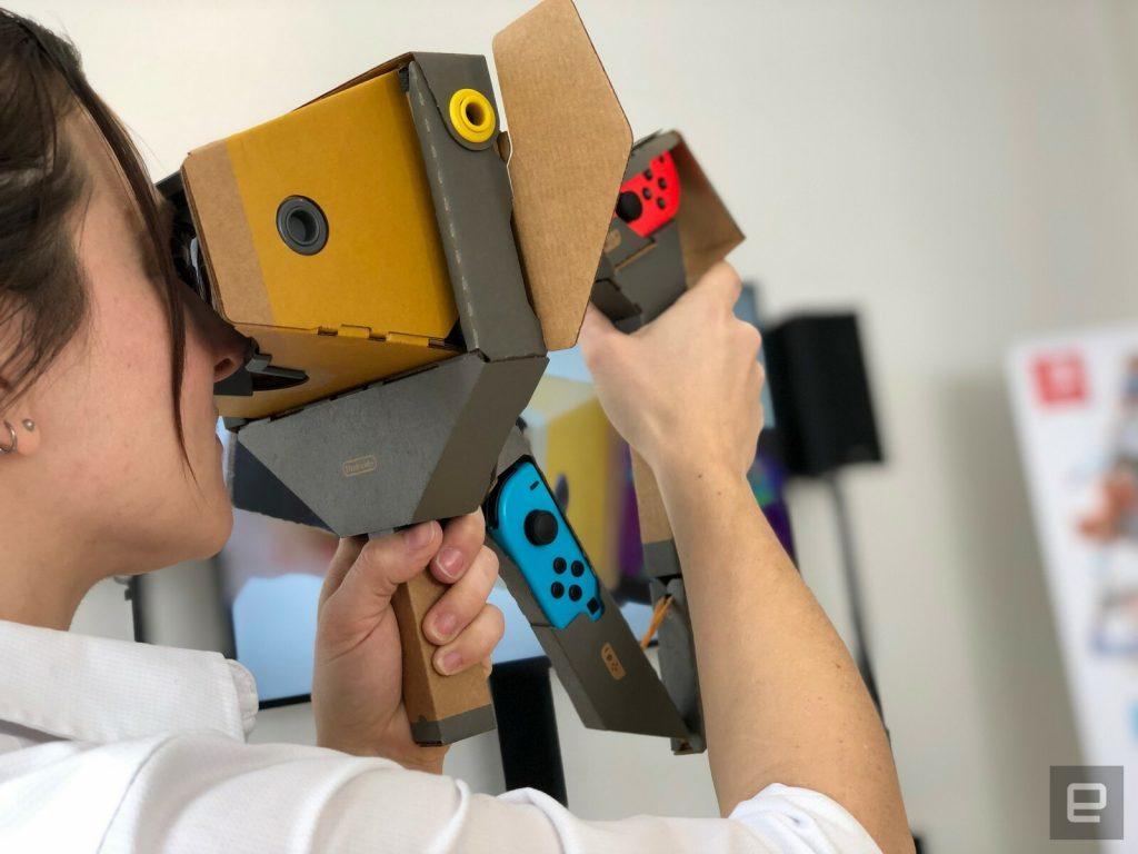 Diamo un primo sguardo al Nintendo Labo VR 3