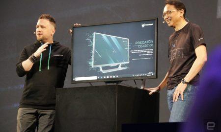 Acer CG437K P monitor 4K 144 Hz