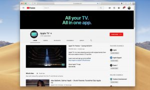 Apple TV canale YouTube