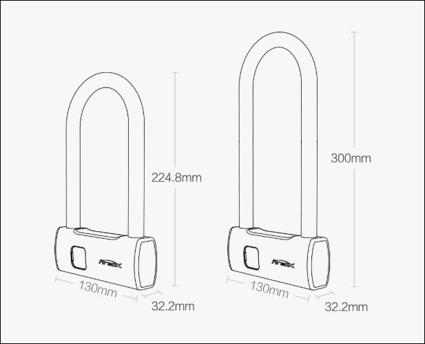 Xiaomi lancia un nuovo lucchetto smart con sensore di impronte da soli 25 euro 1