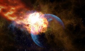 Asteroide contro la Terra