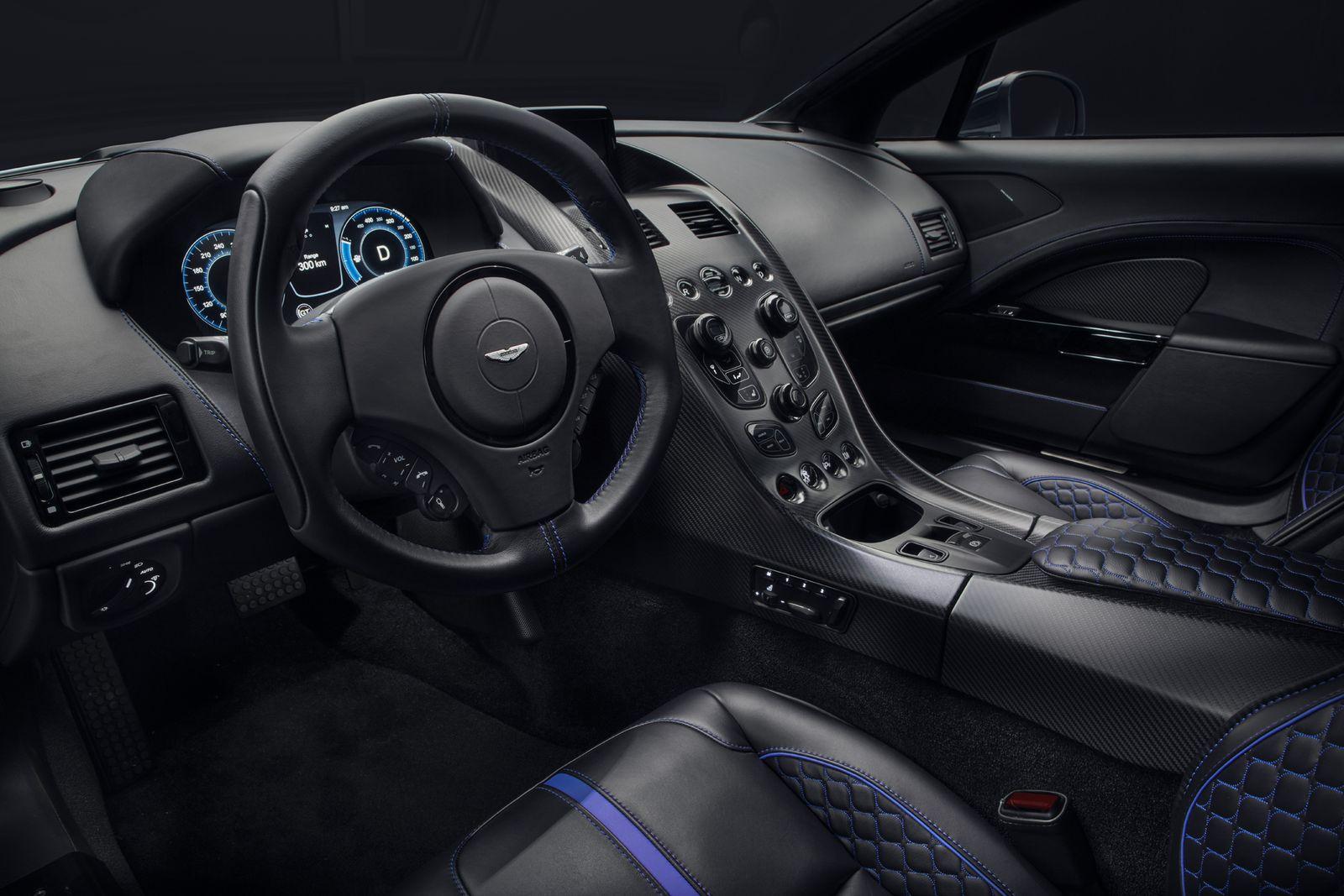 Aston Martin Rapide E è la prima auto elettrica del brand inglese 2