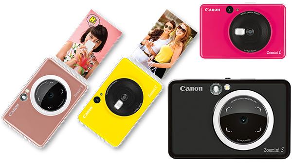 Canon Zoemini S e Canon Zoemini C