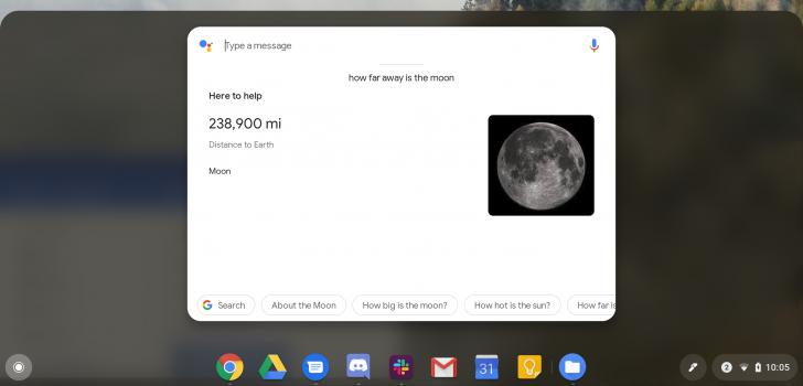 Chrome OS in versione Dev integra Google Assistant nella barra di ricerca 1