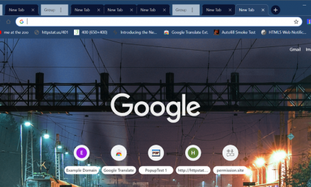 Google Chrome schede raggruppate