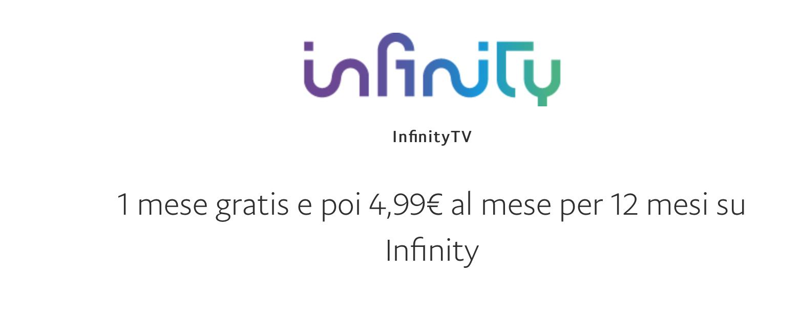 Come avere Infinity TV gratis per 30 giorni e poi a 4,99 euro al mese grazie a PayPal 1
