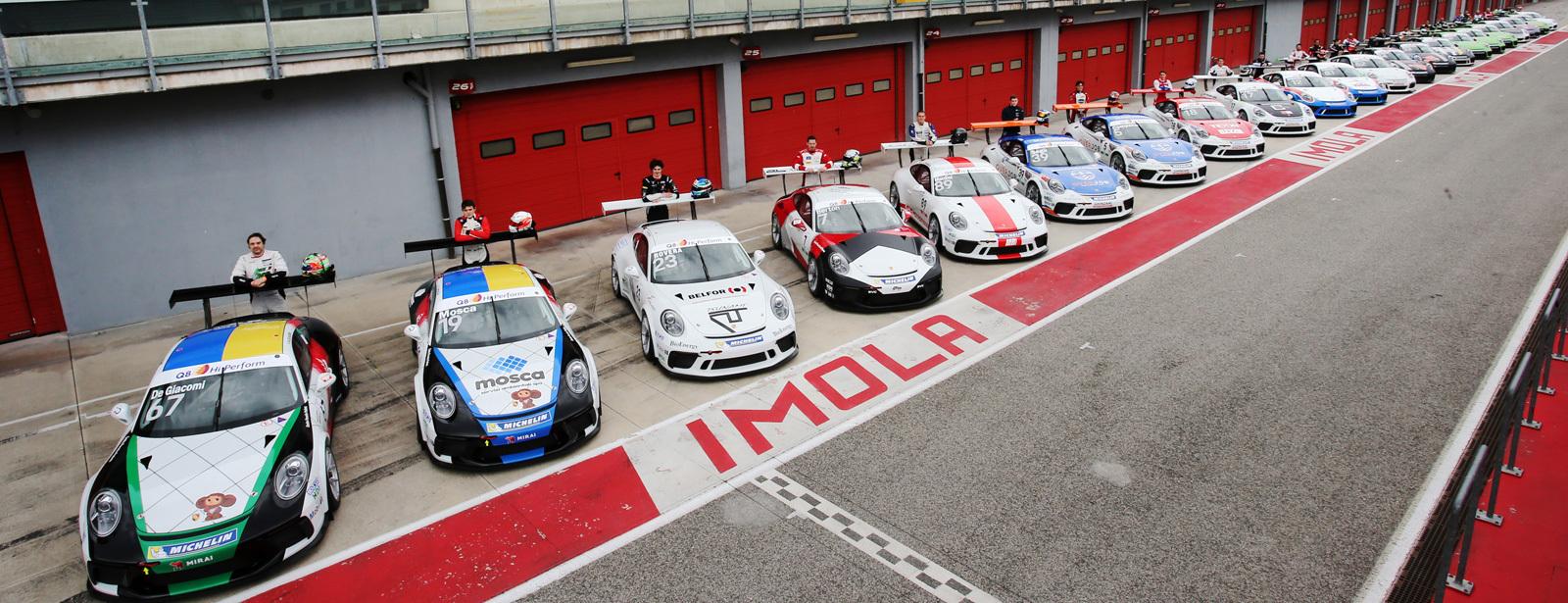 Sky Sport Porsche Carrera Cup Italia