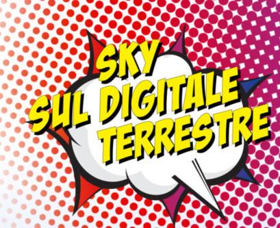 I canali Sky sul Digitale Terrestre avranno una nuova numerazione dal 23 aprile 1