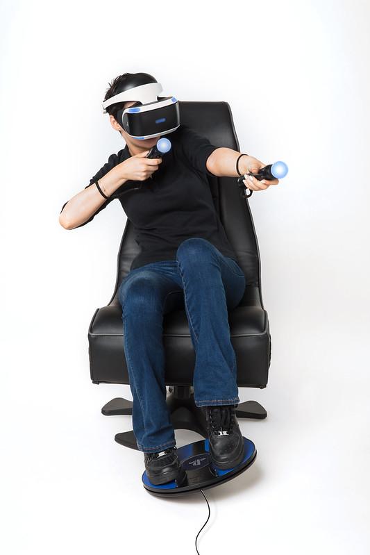 Sony annuncia il 3dRudder, controller per piedi da usare con PlayStation VR 1