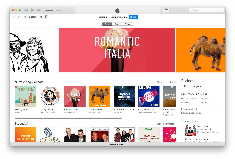 macOS 10.15 potrebbe dire addio ad iTunes in favore delle app Music, Podcasts e Books 1