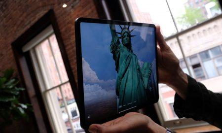 Statua della Libertà app AR