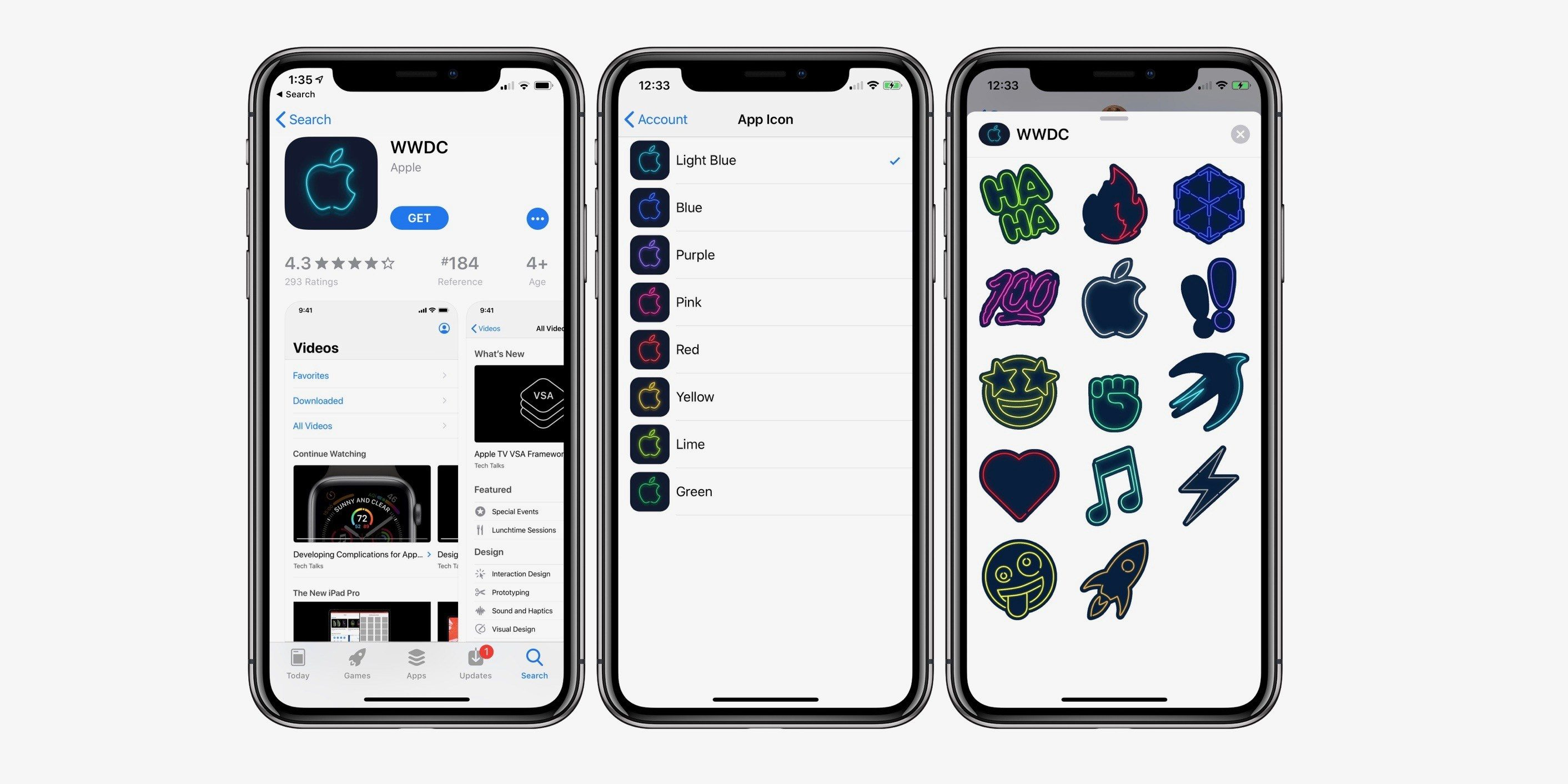 Apple app WWDC 2019