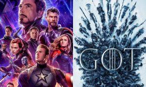 Avengers Endgame e Game of Thrones fanno incetta di nomnation agli MTV Awards