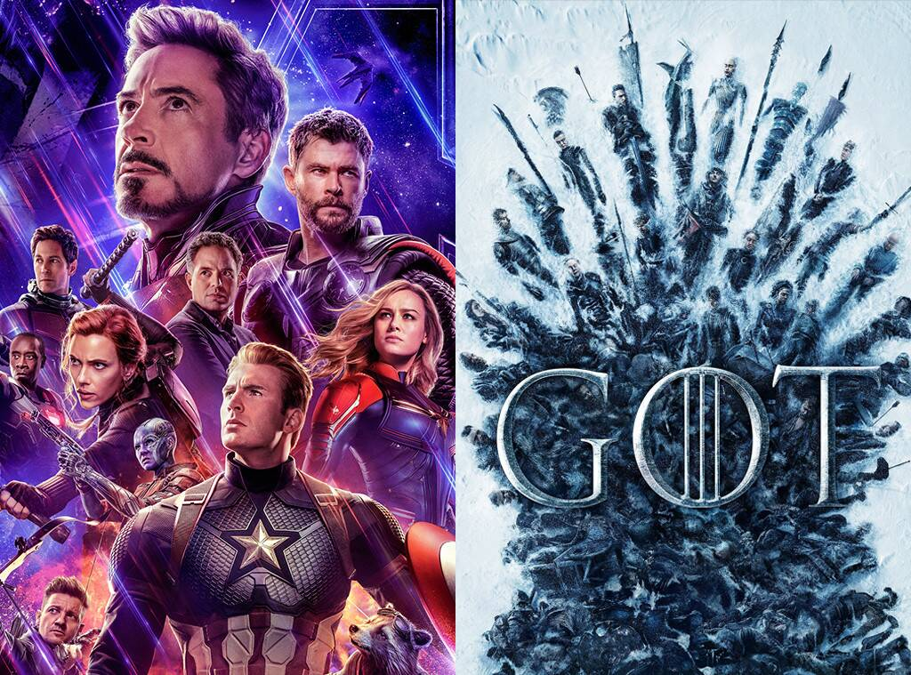 Avengers Endgame e Game of Thrones fanno incetta di nomnation agli MTV Awards