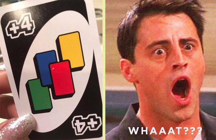 Carte UNO +4