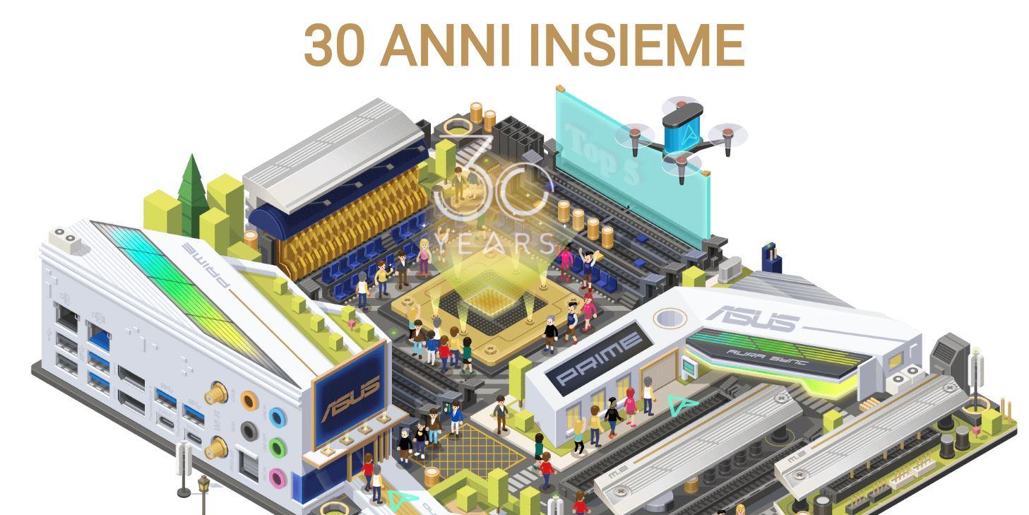 Concorso Asus 30 anni