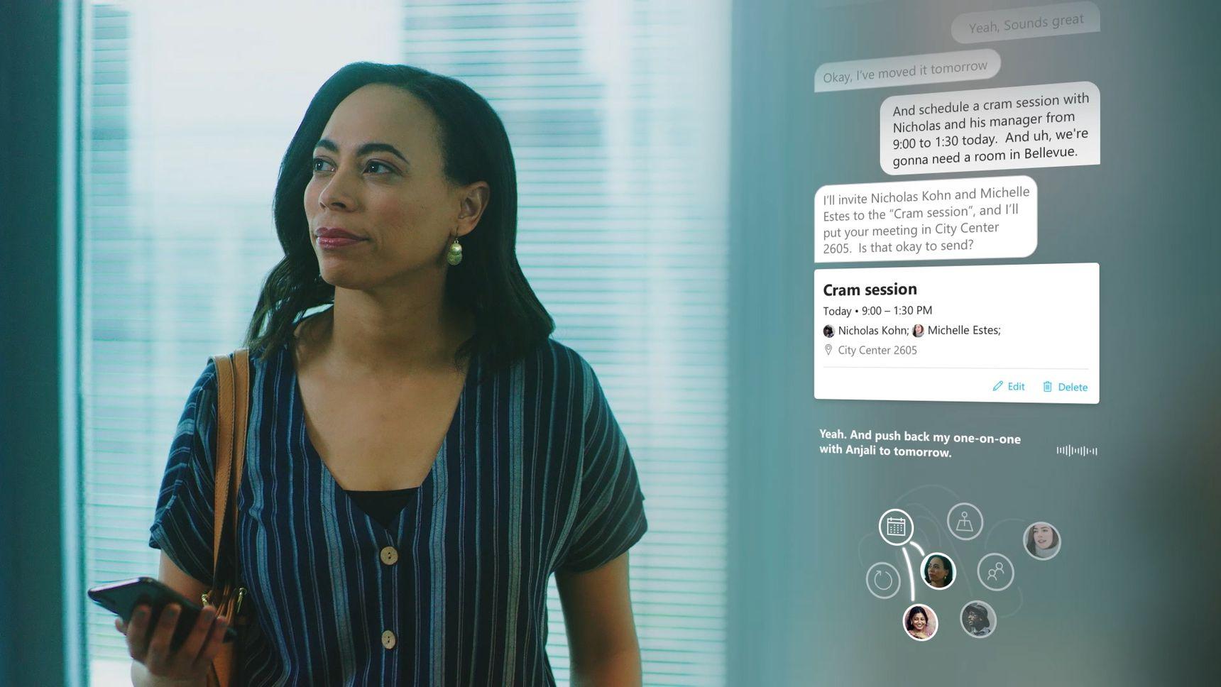 Cortana conversazione