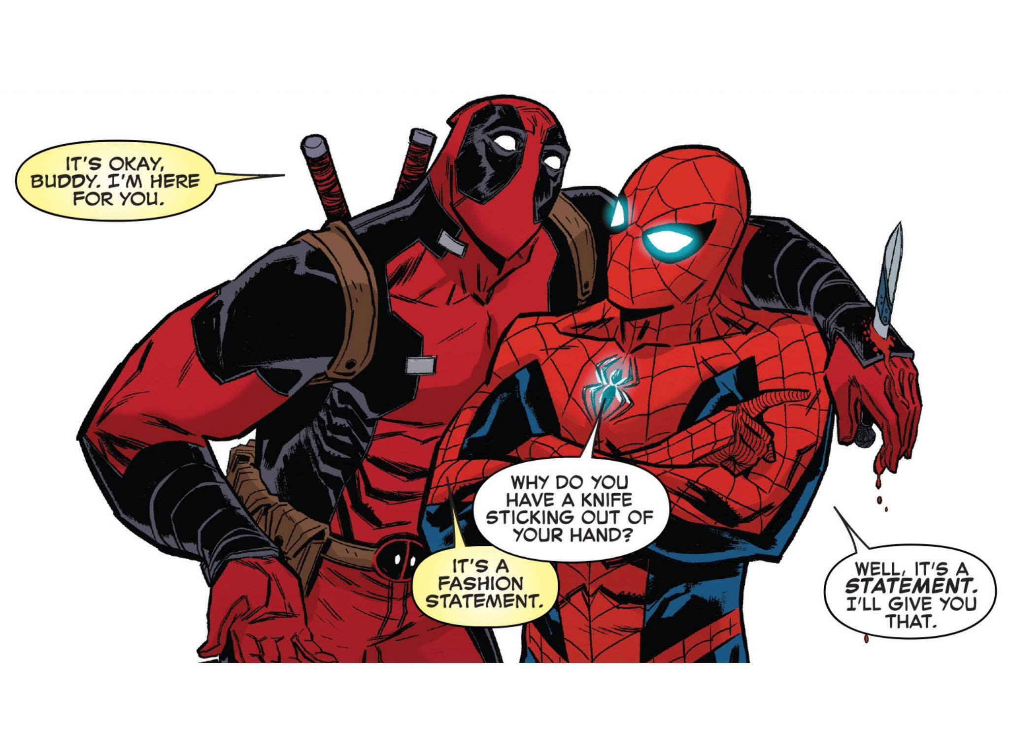 Deadpool Spider-Man