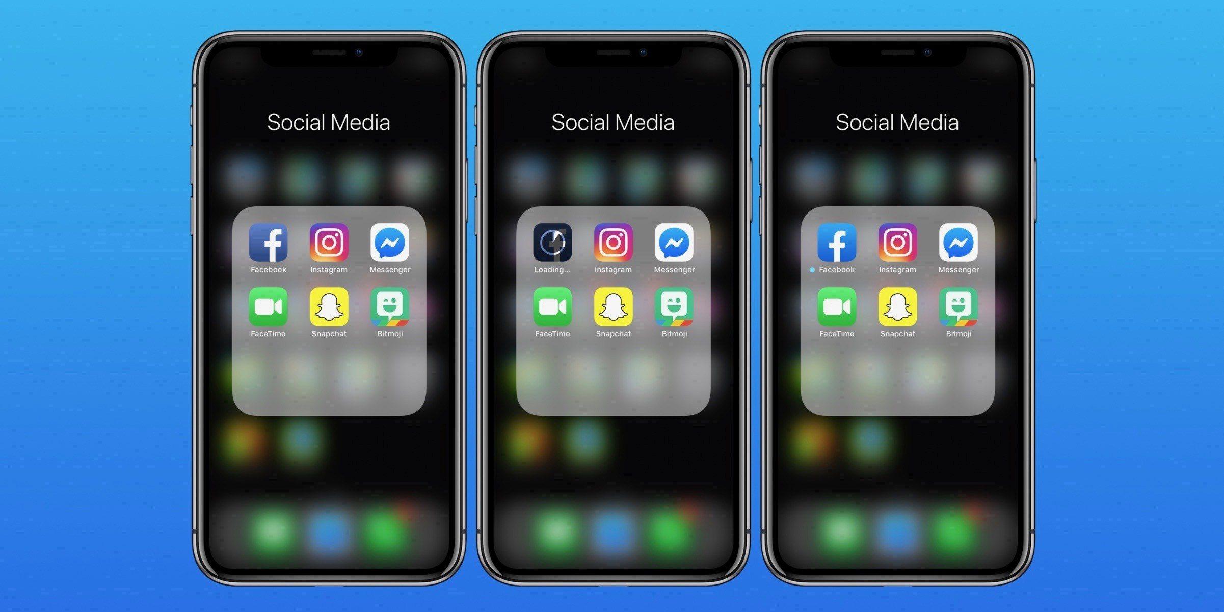 Facebook nuova icona iOS