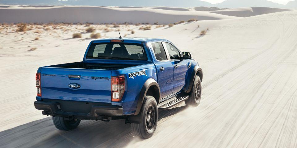 Il pick-up Ford Ranger Raptor in versione Performance arriverà in Europa dalla metà del 2019 1